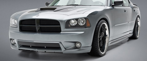 05-09 Charger 3D Carbon Body Kit - 4PC FULL KIT (Urethane)