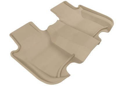 09-12 Honda Fit 3D Maxpider Floormats -- Kagu Tan (2nd Row)