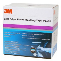 1970-1972 Pontiac LeMans 3M 21 mm Soft Edge Foam Masking Tape PLUS