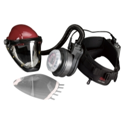 Universal (All Vehicles) 3M Belt-Mounted Powered Air Purifying Respirator (PAPR) Paint Spray Kit