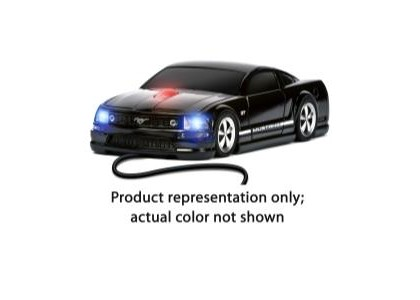 2000-2005 Lexus Is Four Doors Media Mustang GT (Blue With White Stripes) - Wired Mouse