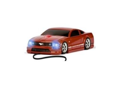 2000-2005 Lexus Is Four Doors Media Mustang GT (Red) - Wired Mouse