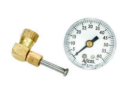 1985 Mercury Marquis  Accel Fuel Pressure Gauge Kit With Fuel Injection