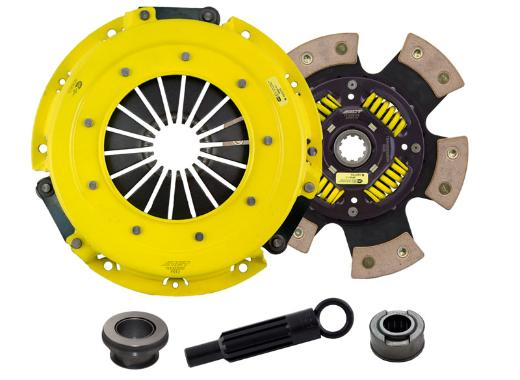 1986-1995 Mercury Capri; 5.0L Engine ACT Clutch Kit - Heavy Duty Pressure Plate (Race Sprung 6-Pad Disc)