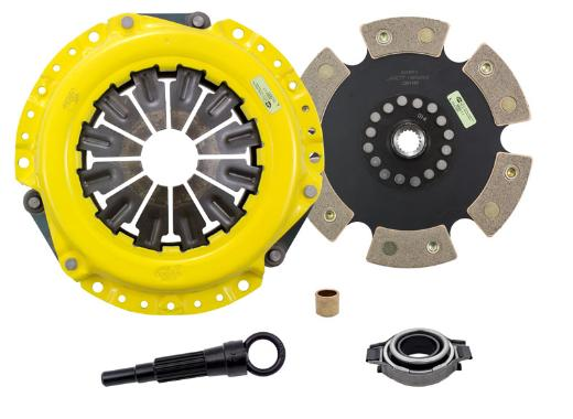 1991-2000 Infiniti G20; 2.0L ACT Clutch Kit - Xtreme Pressure Plate (Race Rigid 6-Pad Disc)