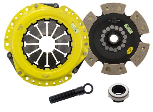 1991-1999 Saturn S-Series; 1.9L Engine ACT Clutch Kit - Heavy Duty Pressure Plate (Race Rigid 6-Pad Disc)