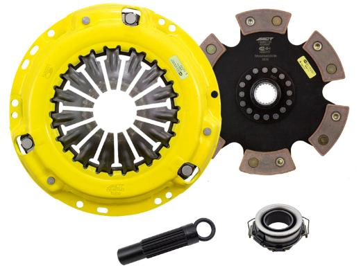 1999-2002 Toyota Solara SE Coupe; 3.0L Engine ACT Clutch Kit - Xtreme Pressure Plate (Race Rigid 6-Pad Disc)