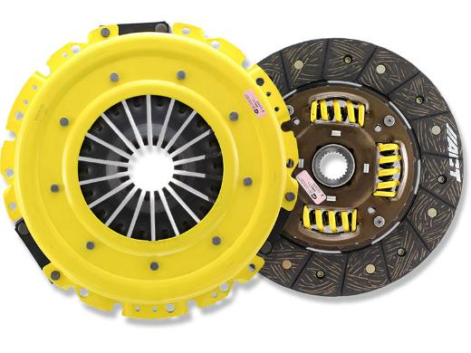 1987-1989 Mazda 323; 2WD Non-Turbo ACT Clutch Kit - Heavy Duty Pressure Plate (Modified Street Disc)