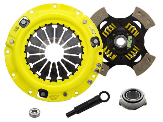 1996-2003 Kia Sephia; 1.8L Engine ACT Clutch Kit - Heavy Duty Pressure Plate (Race Sprung 4-Pad Disc)