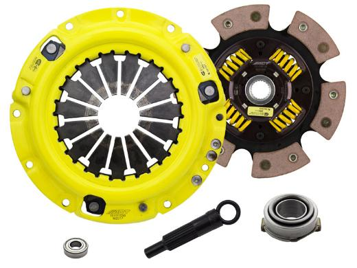 1996-2003 Kia Sephia; 1.8L Engine ACT Clutch Kit - Heavy Duty Pressure Plate (Race Sprung 6-Pad Disc)