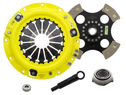 1996-2003 Kia Sephia; 1.8L Engine ACT Clutch Kit - Heavy Duty Pressure Plate (Race Rigid 4-Pad Disc)