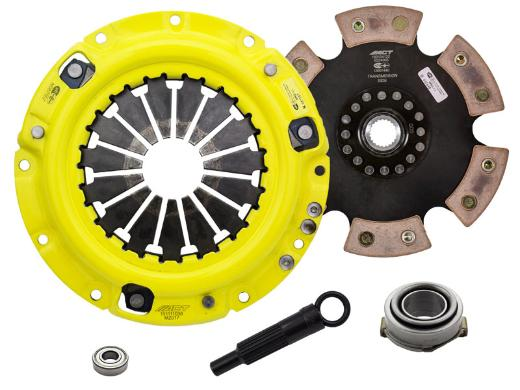 1996-2003 Kia Sephia; 1.8L Engine ACT Clutch Kit - Heavy Duty Pressure Plate (Race Rigid 6-Pad Disc)