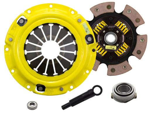 1996-2003 Kia Sephia; 1.8L Engine ACT Clutch Kit - Xtreme Pressure Plate (Race Sprung 6-Pad Disc)