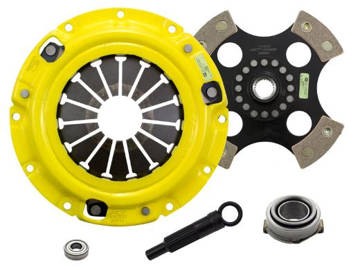 1996-2003 Kia Sephia; 1.8L Engine ACT Clutch Kit - Xtreme Pressure Plate (Race Rigid 4-Pad Disc)