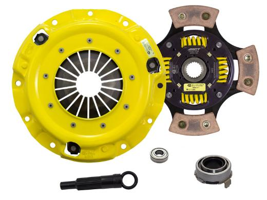 1989-1993 Mazda Miata; 1.6L Engine ACT Clutch Kit - Heavy Duty Pressure Plate (Race Sprung 4-Pad Disc)