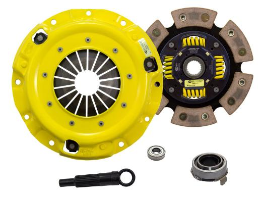 1989-1993 Mazda Miata; 1.6L Engine ACT Clutch Kit - Heavy Duty Pressure Plate (Race Sprung 6-Pad Disc)
