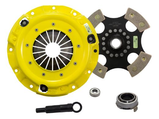 1989-1993 Mazda Miata; 1.6L Engine ACT Clutch Kit - Heavy Duty Pressure Plate (Race Rigid 4-Pad Disc)