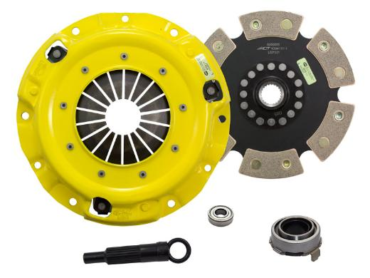1989-1993 Mazda Miata; 1.6L Engine ACT Clutch Kit - Heavy Duty Pressure Plate (Race Rigid 6-Pad Disc)