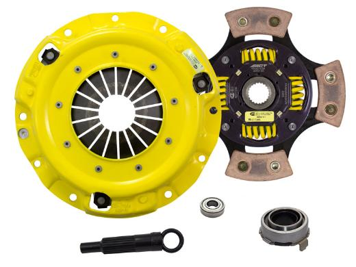 1989-1993 Mazda Miata; 1.6L Engine ACT Clutch Kit - Xtreme Pressure Plate (Race Sprung 4-Pad Disc)