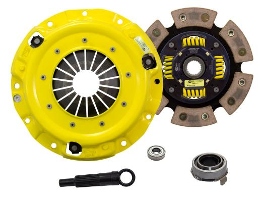 1989-1993 Mazda Miata; 1.6L Engine ACT Clutch Kit - Xtreme Pressure Plate (Race Sprung 6-Pad Disc)