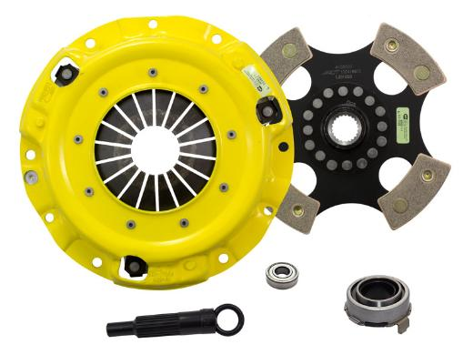 1989-1993 Mazda Miata; 1.6L Engine ACT Clutch Kit - Xtreme Pressure Plate (Race Rigid 4-Pad Disc)