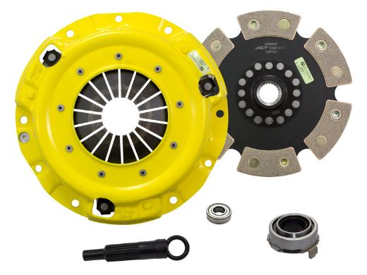 1989-1993 Mazda Miata; 1.6L Engine ACT Clutch Kit - Xtreme Pressure Plate (Race Rigid 6-Pad Disc)