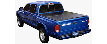 01-03 S-10 Crew Cab  Advance Cover Folding Tonneau Covers - 2 Panel