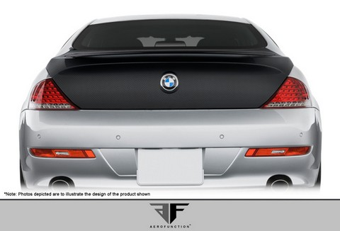 2004-2010 BMW 6 Series E63  Aero Function AF-1 Trunk Lid (08-10 models will lose third brake light) (CFP)