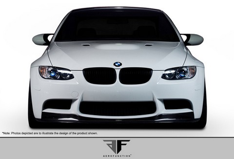 2008-2011 BMW M3 E90/ E92/ E93  Aero Function AF-1 Front Add-On Spoiler (CFP)