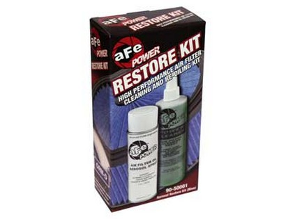All Fuel Intake Modern Muscle Cars (Universal) aFe Restore Kit - Aerosol (Blue)