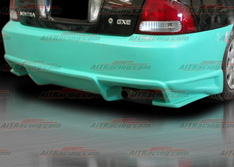 2000-2003 Nissan Sentra Ait Racing BMX Body Kit - Rear Bumper
