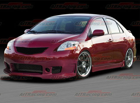 Auto  Racing on Racing Zen Body Kit   Full Kit For 07 Up Toyota Yaris At Andy S Auto