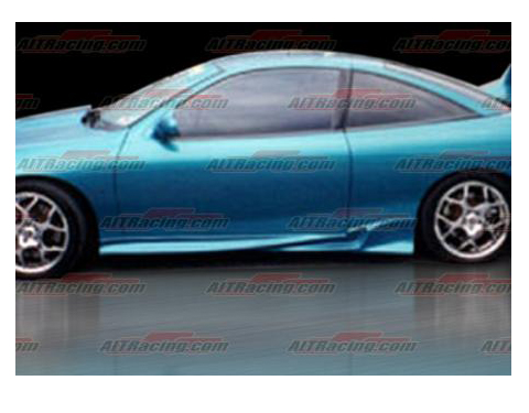 95-99 Chevrolet Cavalier 2DR AIT Racing Kombat 2 Style Body Kit - Side Skirts