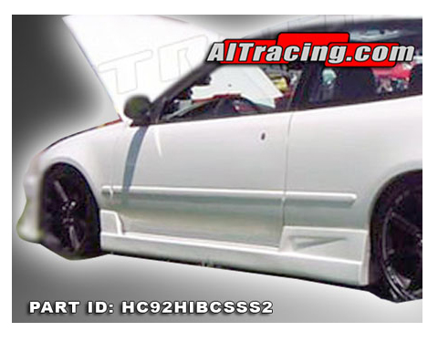 Honda Auto Racing Part on Ait Racing Buddy Club Style Body Kit   Side Skirts For 92 95 Honda