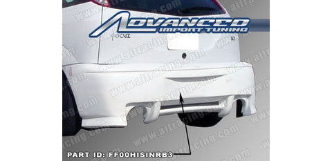 00-03 Ford Focus ZX3 AIT Racing Sin Style Body Kit - Rear Bumper