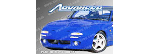 90-97 Mazda Miata AIT Racing RE Style Body Kit - Front Bumper