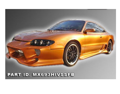93-97 Mazda MX-6 AIT Racing VS Style Body Kit - Front Bumper