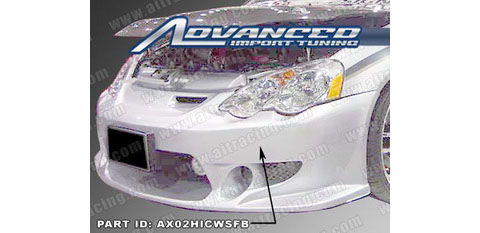 Honda Auto Racing  on Ait Racing Cw Style Body Kit Full Kit 0204 Acura Rsx