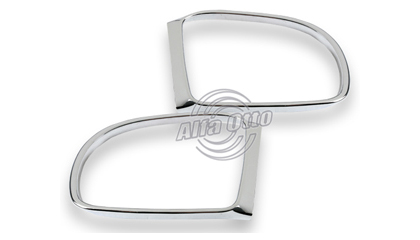 06-07 Mercedes ML350 / ML500 (W164) Alfa Otto Mirrors - Mirror Cover (Chrome)
