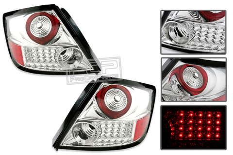 04-06 SCION TC Alfa Otto LED EURO TAIL LIGHTS