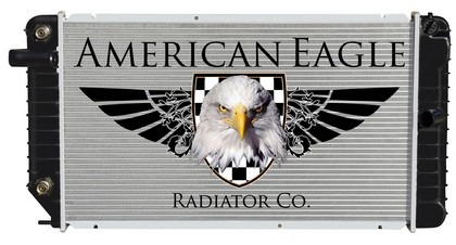 94-95 Corsica American Eagle Plastic Aluminum Radiator - Thickness 26mm