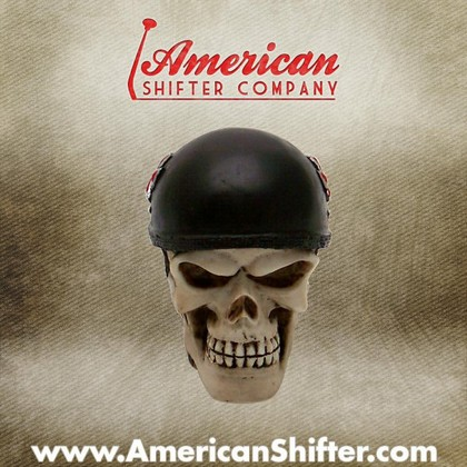 American Shifter 180840 Orange Retro Metal Flake Shift Knob with M16 x 1.5 Insert Green Swords