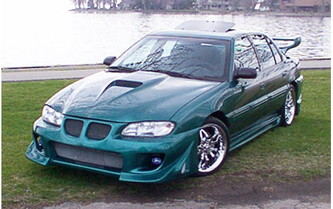 Pontiac grand am body kits at andys auto sport front bumper sciox Images
