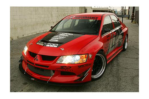 03-05 EVO 8 APR Performance Evil-R Body Kit - FULL KIT