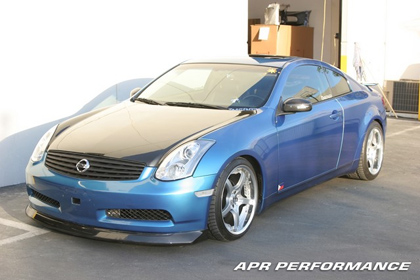 03-06 G35 Coupe Non-Sport Package APR Performance Body Kit - Carbon Fiber Front Air Dam