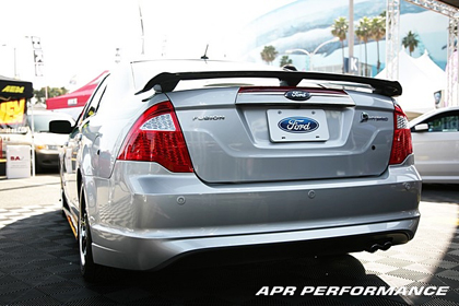 09-Up Fusion APR Performance Carbon Fiber Rear Deck Spoiler