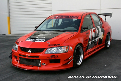 06-07 EVO 9 APR Performance Evil-R Body Kit - FULL KIT