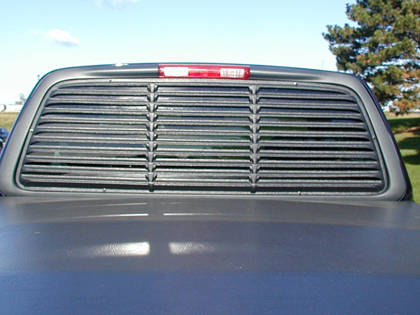 Truck Rear Window Louvers
