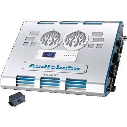 All Jeeps (Universal) Audiobahn 1500W RMS Single-Channel Class D Monoblock Car Amplifier
