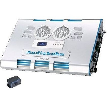 All Jeeps (Universal) Audiobahn 2500W Single-Channel Class D Monoblock Car Amplifier